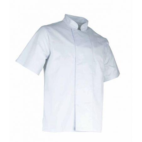 Veste de Cuisine Homme Aubergine Blanc LMA