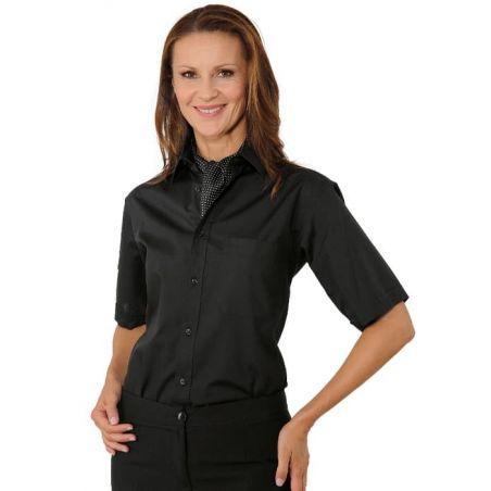 Chemise de Service manches courtes Unisexe Camicia Isacco