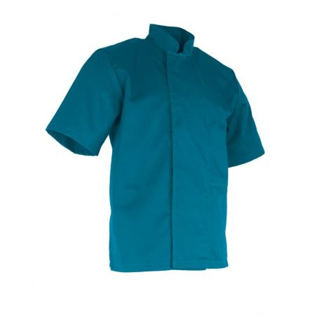 Veste de Cuisine Homme Arachide Bleu Caraibe LMA