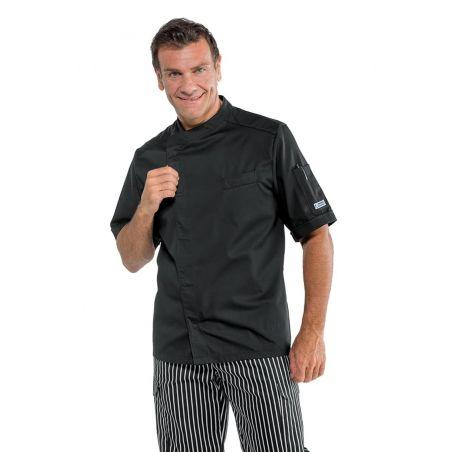 Veste de Cuisine Homme 059301M Isacco Manches Courtes