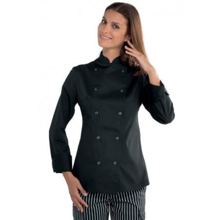 Veste de Cuisine Femme Lady Chef Isacco