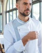 Veste de cuisine professionnelle, veste respirante toutes tailles