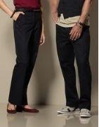 Pantalon de service femme et homme, tenue professionnelle de restauration