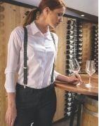 Chemisier serveuse et tenue professionnelle pour les métiers de service