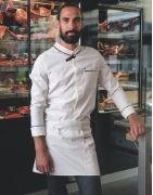 Veste de boucher et tenue complète pour la boucherie et la charcuterie