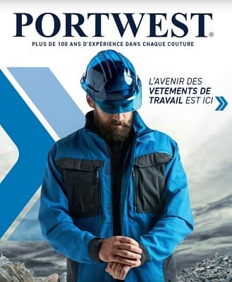 Catalogue portwest fabricant